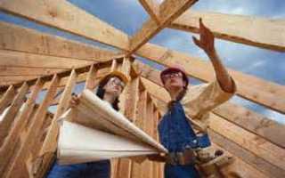 Женщина в строительстве