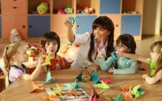 Деятельность педагога в детском саду