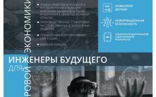 Высшая школа экономики программная инженерия