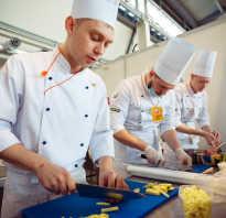 Где учат на повара в екатеринбурге