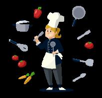 Где учат на повара в москве