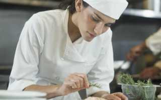Код специальности повар кондитер